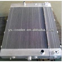 Aluminium-Platten-Kühler, kombinieren Öl-Wasser-Wärmetauscher