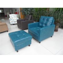 Living Room Sofa with Modern Genuine Leather Sofa Set (456)