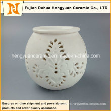 New Design Ceramic Tealight Oil Burner/Wholesale Ceramic Oil Diffuser