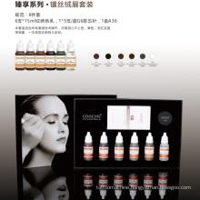Plant Essence Semi Permanent Makeup Eyebrow Pigment Tattoo Color Kit