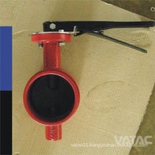 Gear Box Cast Steel&Cast Iron Clamped Butterfly Valve