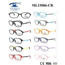 Colorido hermoso material de luz 2015 marco de gafas para niños (ml15006)