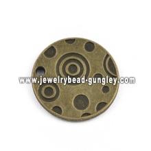 Круглая форма ювелирные изделия сплава кулон ожерелье