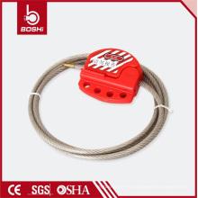 Bloqueo del cable ajustable con cable de acero inoxidable de 1,8 metros