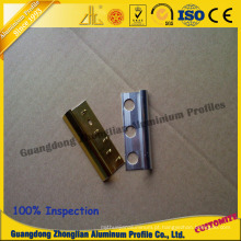 Material de alumínio do perfil de alumínio do tapete do OEM Customerizd para a decoração