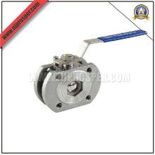 Stainless Steel 1PC Flange Ball Valve (YZF-V11)