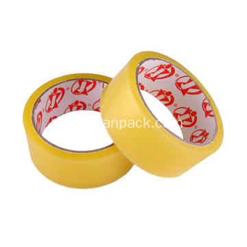 Clear self adhesive stick tape roll