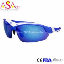 Мода Дизайнер UV400 Защита ПК Мужские спортивные солнцезащитные очки (14370)