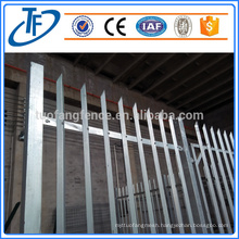 2016 new products of wrought iron fence, garrison fence