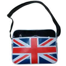 Юнион Джек стиль печати блестящей кожи ремень сумки