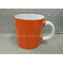Caneca de café 14oz, caneca cerâmica de dois tons