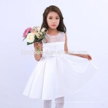 Los niños de estilo casual Baby Girl Summer Dress Girl Daily Wear Dress