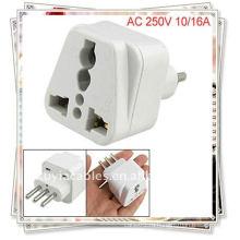 Италия к универсальному адаптеру Travel Plug Адаптер переменного тока 250 В (адаптер переменного тока)