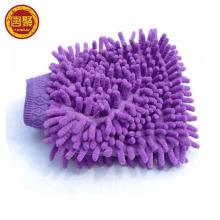 Microfibra chenille carro lavagem limpeza luva toalha lavagem luva
