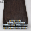 100 Percent Indian Remy Human Raw Unprocessed Wholesale Indian Virgin Tape Hair