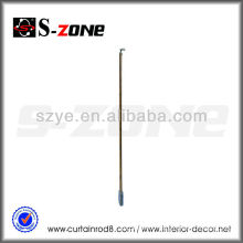 steel iron curtain tension rod curtain wands of curtain accessory