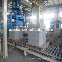Producción de bloques aislados con hormigón