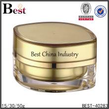15/30/50g eye shaped gold cream cosmetic acrylic jar