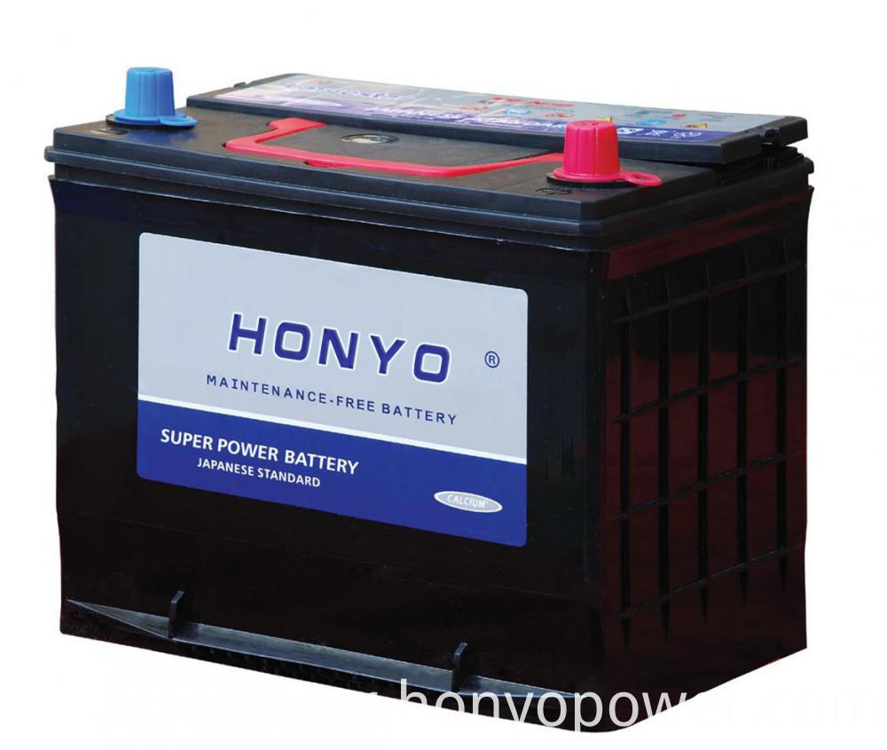 N50ZMF Lead-acid MF Car Batteries