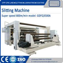 Schneidemaschine für Folie weiches Verpackungsmaterial