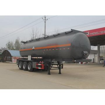 11m Tri-axle Corrosive Goods Transport Tank Semi-trailer