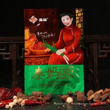 Huile végétale, assaisonnement chinois