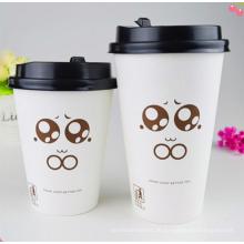 Kinder Party liefert Einweg-Papier Kaffeetasse