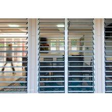 Mehrere Konfigurationen Faltbares Glaslüfterfenster