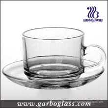 Tableware Glass Mug & Saucer Set/Tea Set (TZ-GB09D2406)