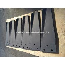 Lâmina de misturador de precisão de titânio para equipamentos