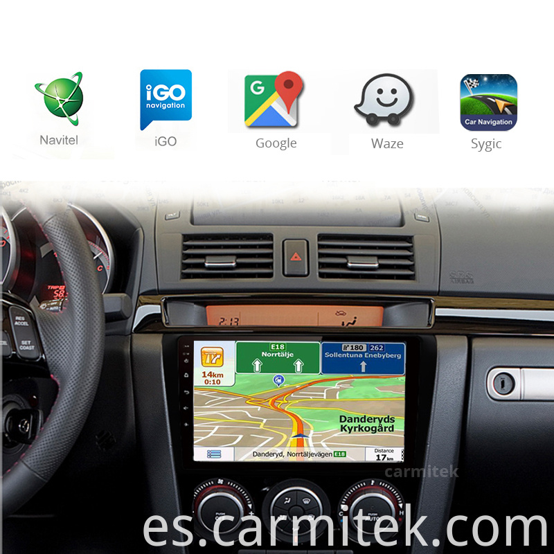 Carmitek head unit for Mazda 3