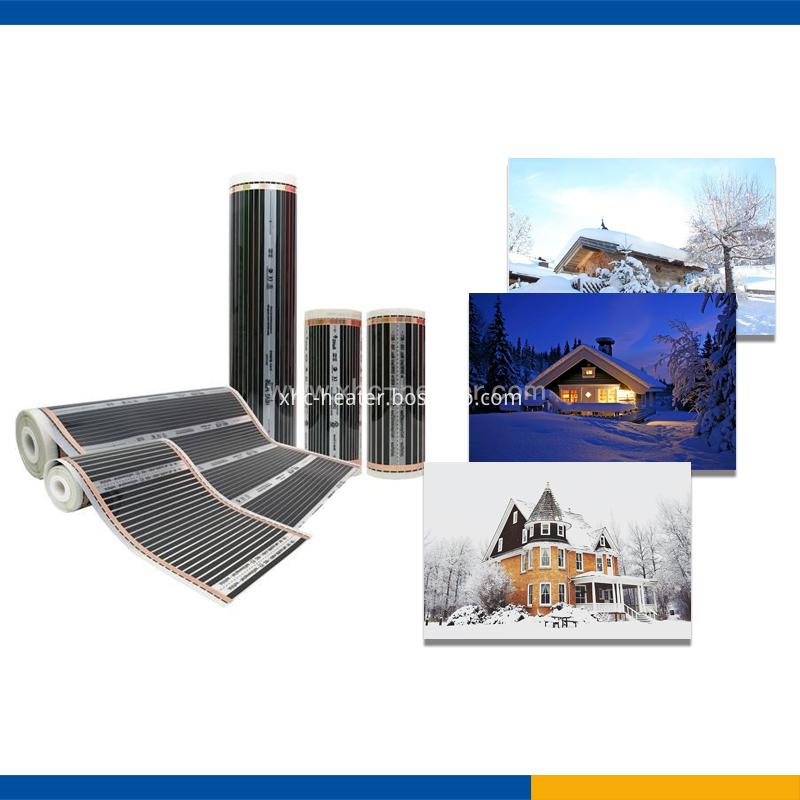 XHC-F054-snow melting heat film