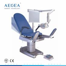 AG-S101 equipo de hospital madre trabajo lujoso obstétrica silla de ginecólogo para la venta