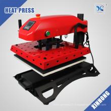 XINHONG Grand T-shirt à tiroir pneumatique Heat Press Machine CE Approbation