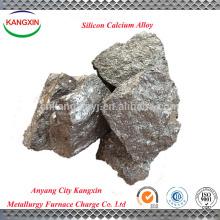 aplicación de acero materiales minerales Calcio Silicio / Ca-Si / Si-Ca Aleación