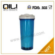 16oz Plastic Travel Cup Auto Mug