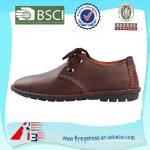 men stylish casual genuine leather shoes