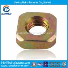 DIN557 en acier au carbone en acier plaqué zinc