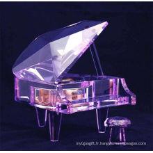 Crystal Piano Music Box Jd-Pn-001
