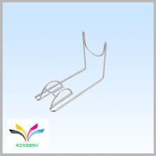 Zapateros personalizados de la exhibición de los zapatos del metal de la encimera del cromo de la manera