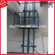закрытый гидравлический лифт направляющая машина