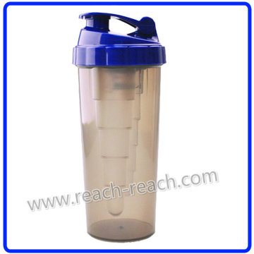 Energía bebiendo proteína plástico agitador