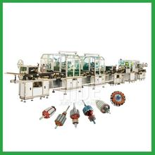 Fully automatic electric motor armature production line