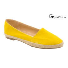 Women′s Espadrille Pointed Toe Comfortable Flat Ballet Shoes