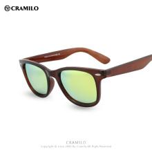 Cramilo CLASSIC Gafas de sol Hombres Mujeres Marca Diseñador club Gafas Revestimiento Espejo Gafas de sol Moda Oculos De Sol FP027