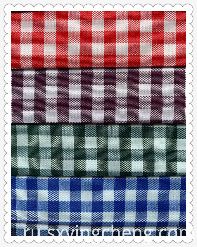 Oxford Checker Fabric