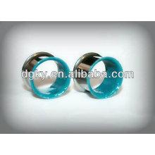 Wholesale piercing jewelry stainless steel ear tuunel