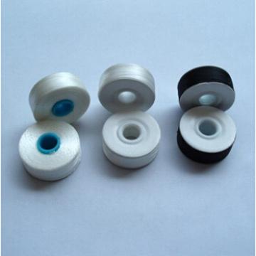 fil à broder canette matière terylene