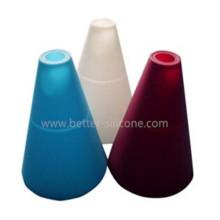 Sombra de moda de la lámpara del silicón modificada para requisitos particulares
