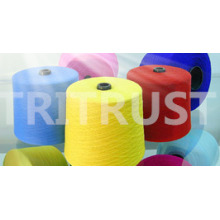 100% Spun Polyester Yarn for Sewing Thread (21S/2)